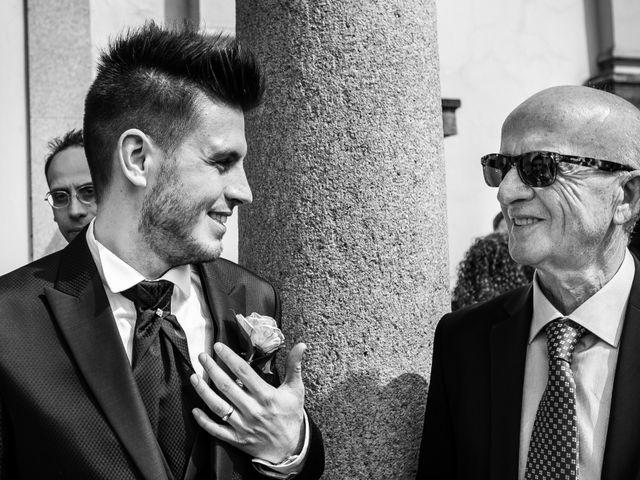 Il matrimonio di Mattia e Ambra a Tribiano, Milano 57