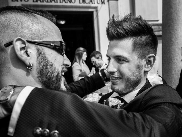 Il matrimonio di Mattia e Ambra a Tribiano, Milano 60
