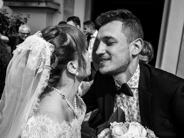 Il matrimonio di Mattia e Ambra a Tribiano, Milano 61