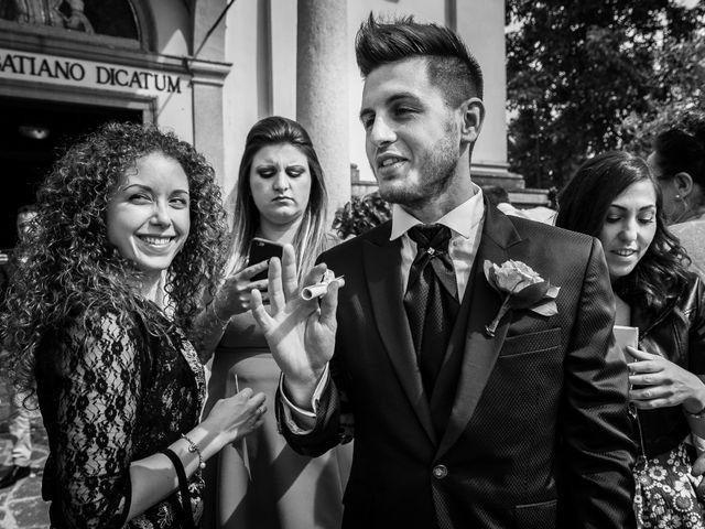 Il matrimonio di Mattia e Ambra a Tribiano, Milano 63