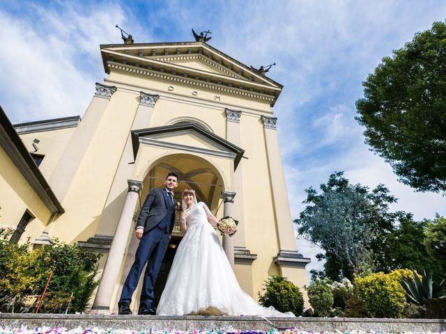 Il matrimonio di Mattia e Ambra a Tribiano, Milano 64