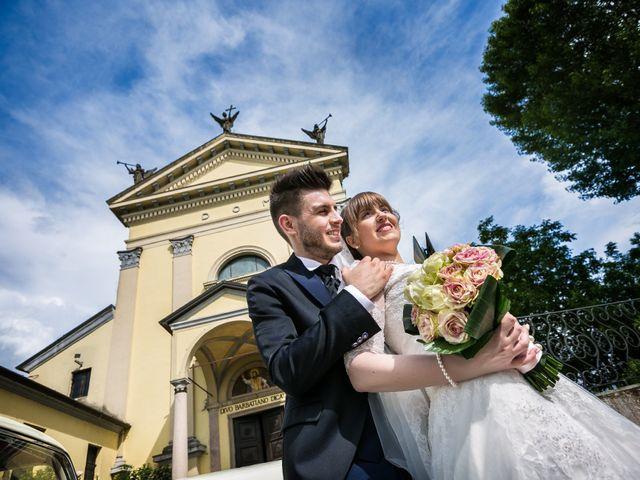 Il matrimonio di Mattia e Ambra a Tribiano, Milano 66