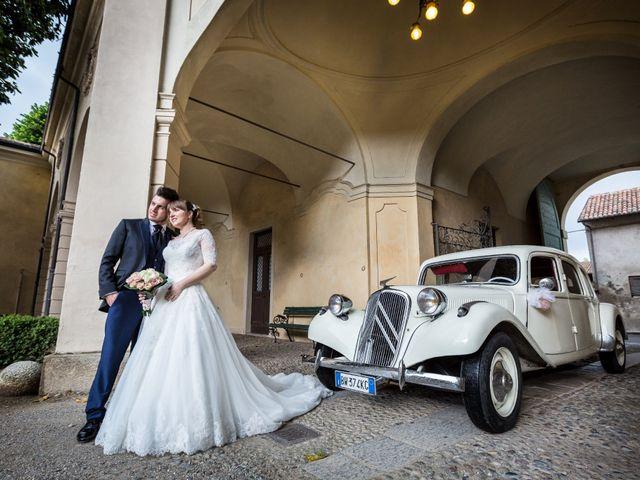 Il matrimonio di Mattia e Ambra a Tribiano, Milano 71