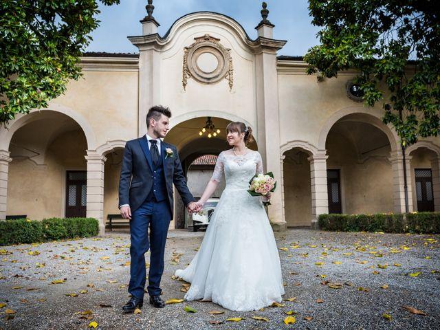 Il matrimonio di Mattia e Ambra a Tribiano, Milano 73
