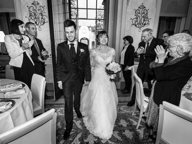 Il matrimonio di Mattia e Ambra a Tribiano, Milano 74