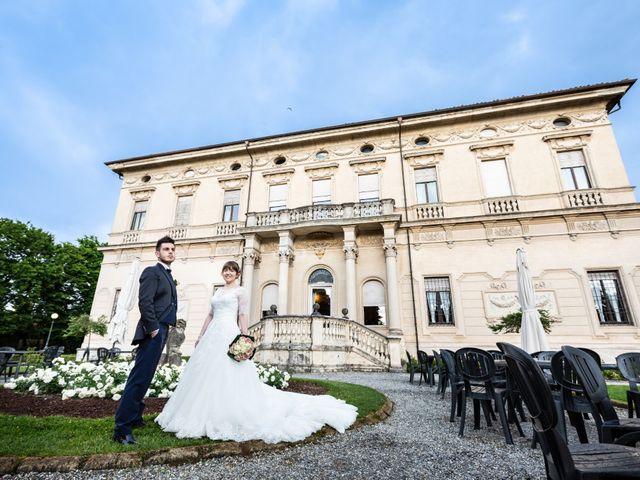 Il matrimonio di Mattia e Ambra a Tribiano, Milano 82