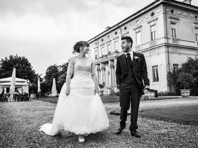 Il matrimonio di Mattia e Ambra a Tribiano, Milano 84