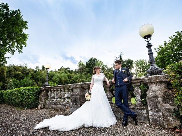 Il matrimonio di Mattia e Ambra a Tribiano, Milano 85