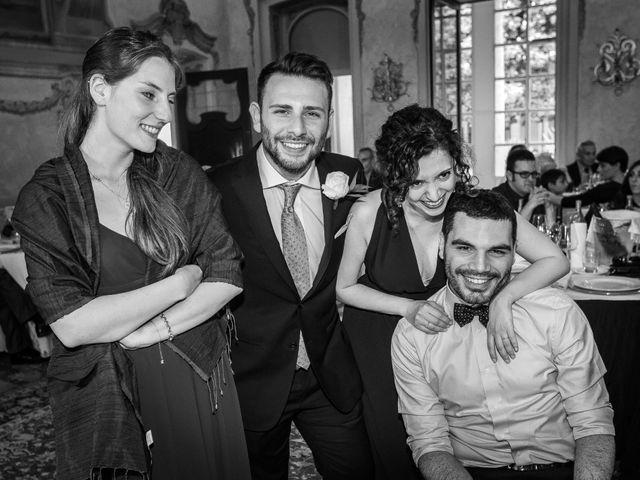 Il matrimonio di Mattia e Ambra a Tribiano, Milano 91