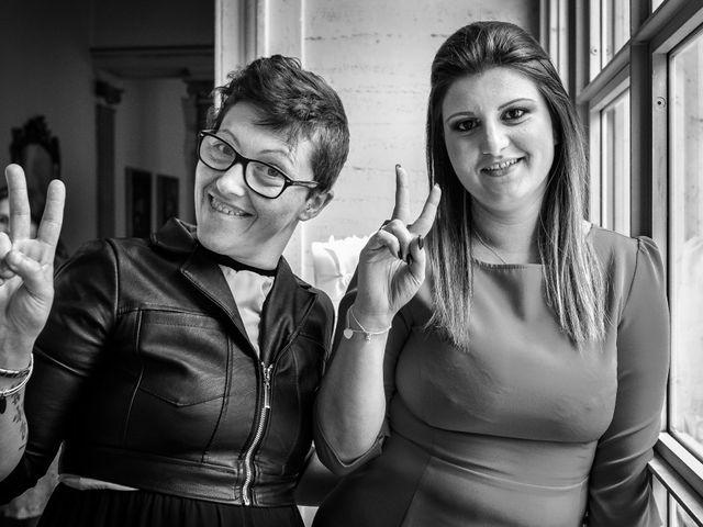 Il matrimonio di Mattia e Ambra a Tribiano, Milano 95