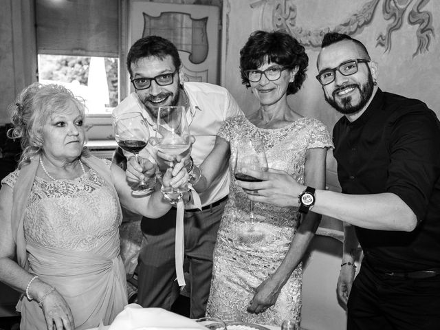 Il matrimonio di Mattia e Ambra a Tribiano, Milano 100