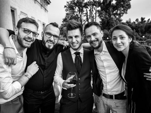 Il matrimonio di Mattia e Ambra a Tribiano, Milano 103