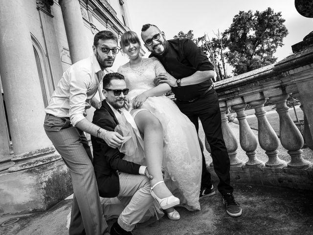 Il matrimonio di Mattia e Ambra a Tribiano, Milano 104