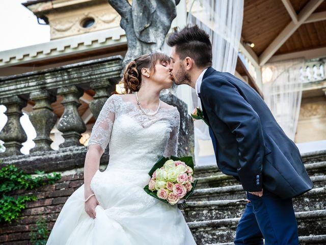 Il matrimonio di Mattia e Ambra a Tribiano, Milano 107