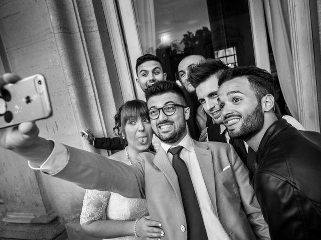 Il matrimonio di Mattia e Ambra a Tribiano, Milano 109