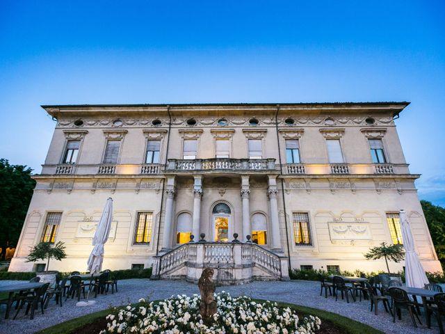 Il matrimonio di Mattia e Ambra a Tribiano, Milano 111