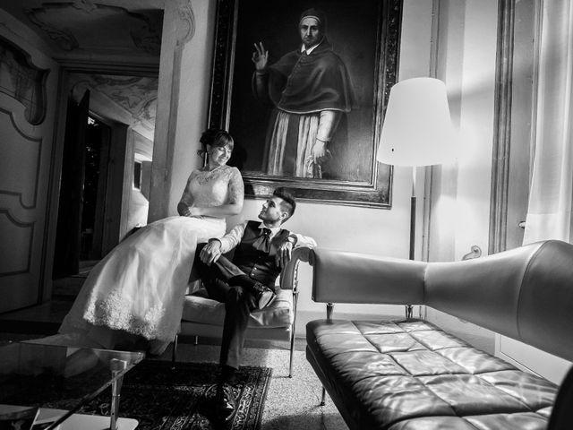 Il matrimonio di Mattia e Ambra a Tribiano, Milano 113