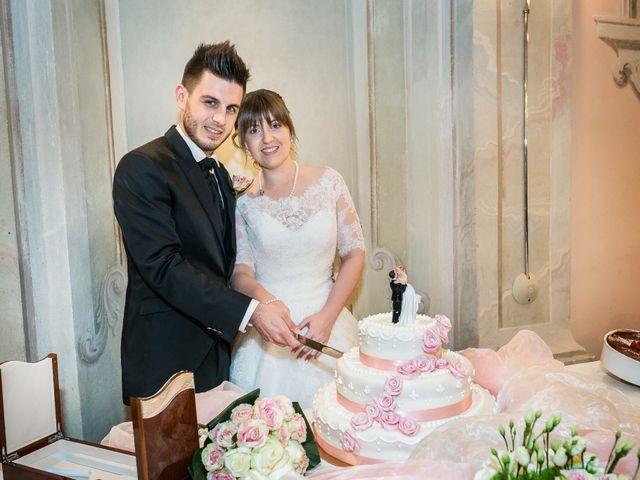 Il matrimonio di Mattia e Ambra a Tribiano, Milano 114