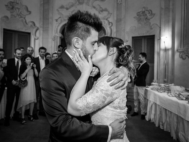 Il matrimonio di Mattia e Ambra a Tribiano, Milano 115