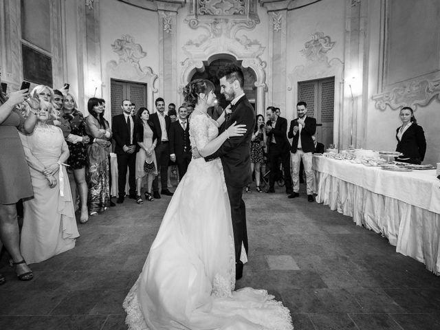 Il matrimonio di Mattia e Ambra a Tribiano, Milano 116