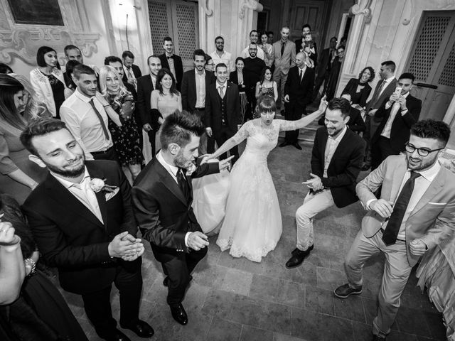 Il matrimonio di Mattia e Ambra a Tribiano, Milano 117