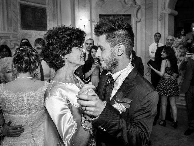 Il matrimonio di Mattia e Ambra a Tribiano, Milano 118