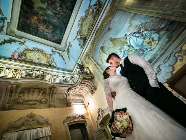 Il matrimonio di Mattia e Ambra a Tribiano, Milano 121