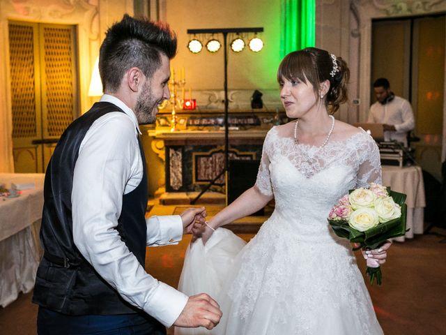 Il matrimonio di Mattia e Ambra a Tribiano, Milano 122