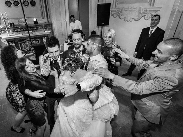 Il matrimonio di Mattia e Ambra a Tribiano, Milano 123