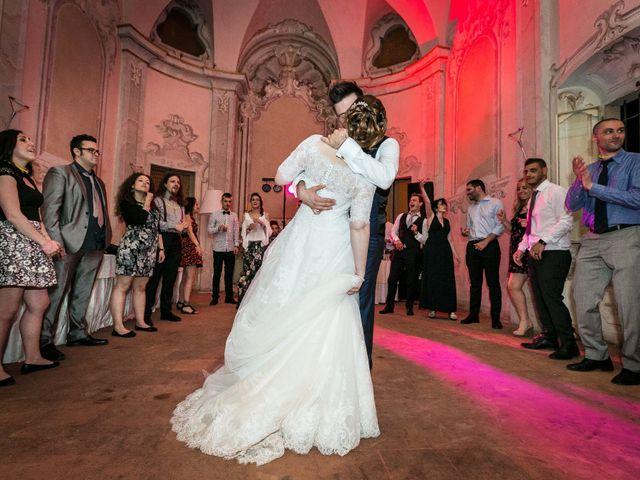 Il matrimonio di Mattia e Ambra a Tribiano, Milano 125