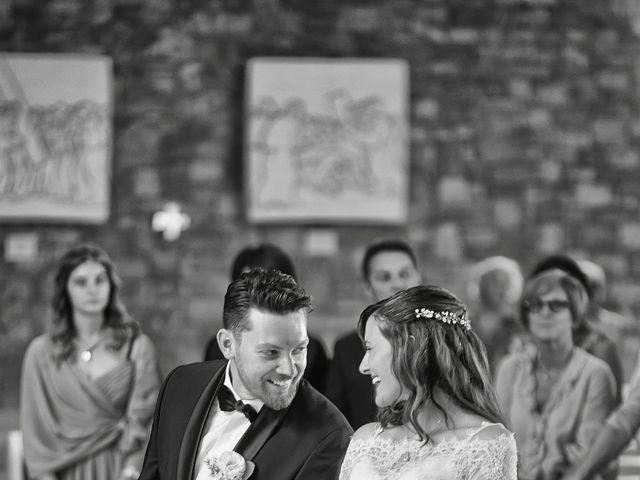 Il matrimonio di Mattia e Chiara a Rodengo-Saiano, Brescia 26