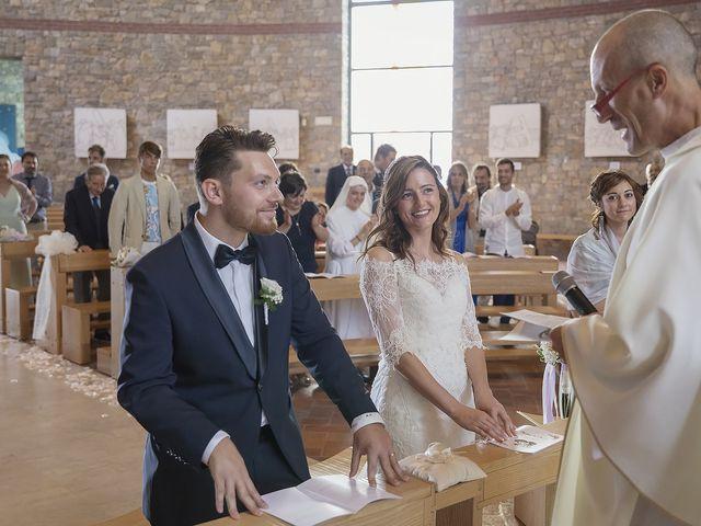 Il matrimonio di Mattia e Chiara a Rodengo-Saiano, Brescia 33