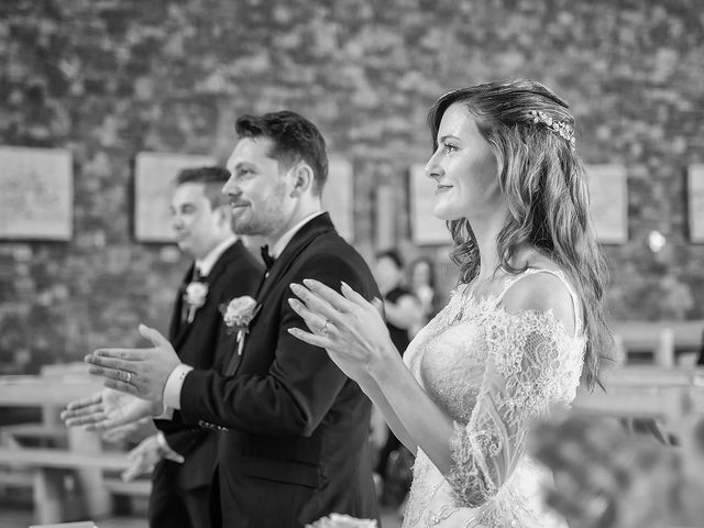 Il matrimonio di Mattia e Chiara a Rodengo-Saiano, Brescia 35