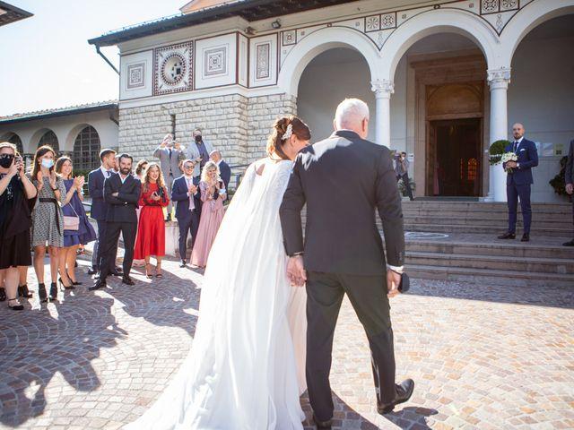 Il matrimonio di Matteo e Manuela a Erbusco, Brescia 15