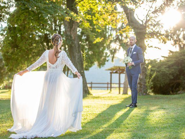 Il matrimonio di Matteo e Manuela a Erbusco, Brescia 25