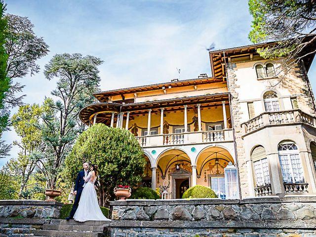 Il matrimonio di Andrea e Giulia a Bergamo, Bergamo 57
