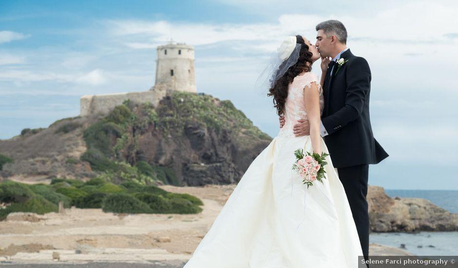 Il matrimonio di Albino e Greka a Villa San Pietro, Cagliari