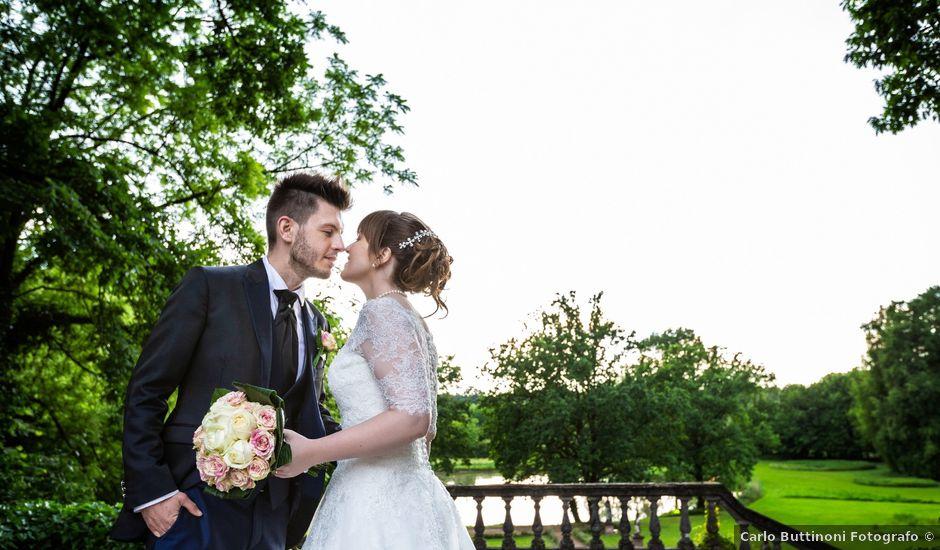 Il matrimonio di Mattia e Ambra a Tribiano, Milano