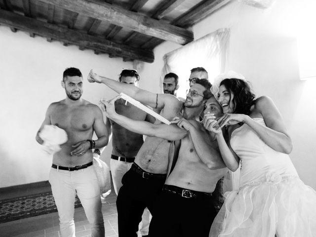 Il matrimonio di Daniele e Nunzia a Magliano in Toscana, Grosseto 42