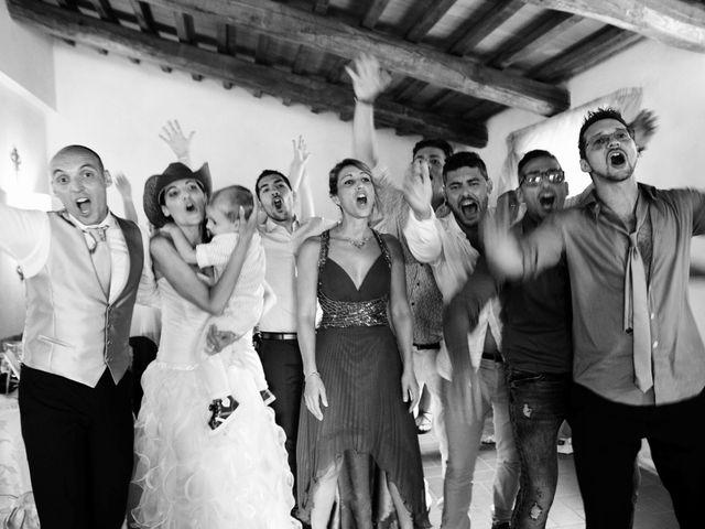 Il matrimonio di Daniele e Nunzia a Magliano in Toscana, Grosseto 43