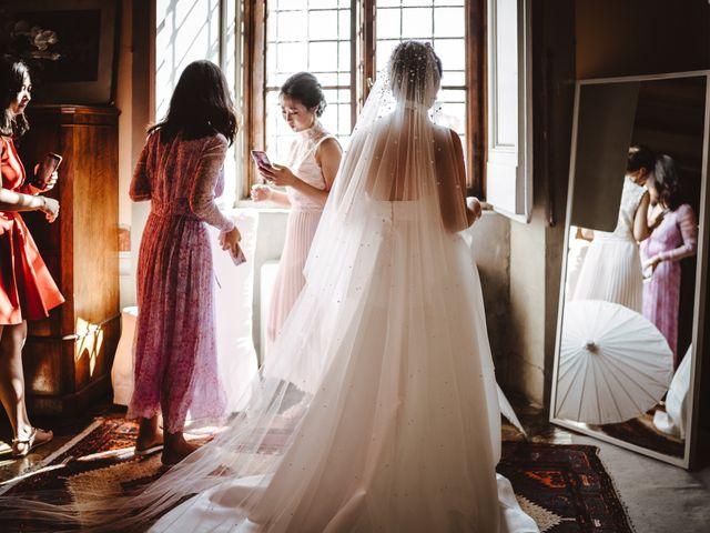 Il matrimonio di Daniel e Siyi a Fiesole, Firenze 6