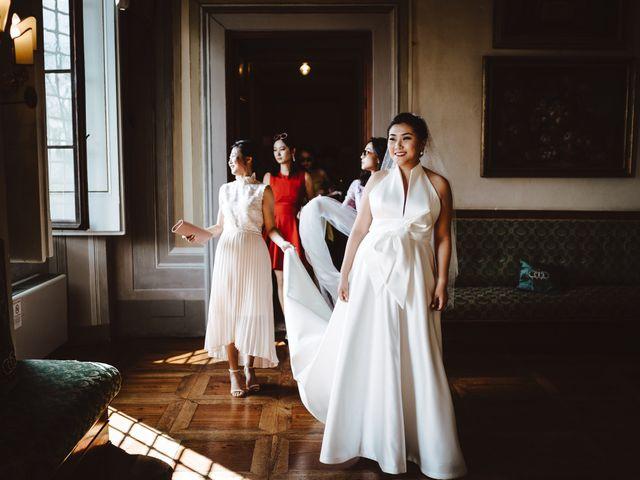 Il matrimonio di Daniel e Siyi a Fiesole, Firenze 9