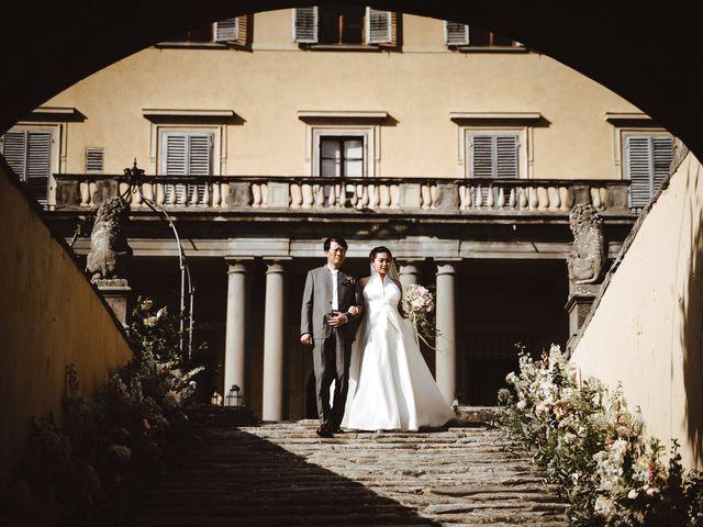 Il matrimonio di Daniel e Siyi a Fiesole, Firenze 12