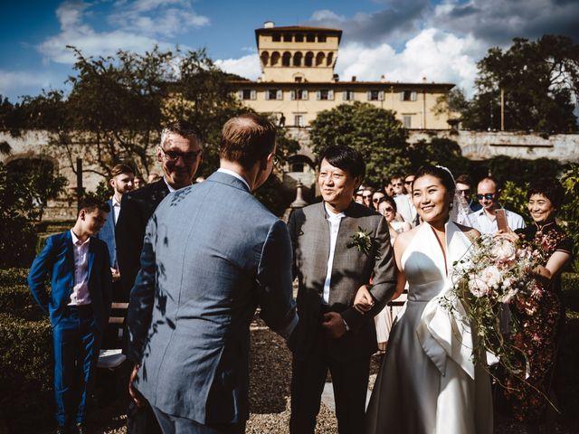 Il matrimonio di Daniel e Siyi a Fiesole, Firenze 13