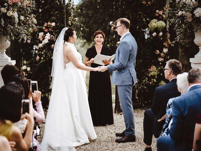 Il matrimonio di Daniel e Siyi a Fiesole, Firenze 17