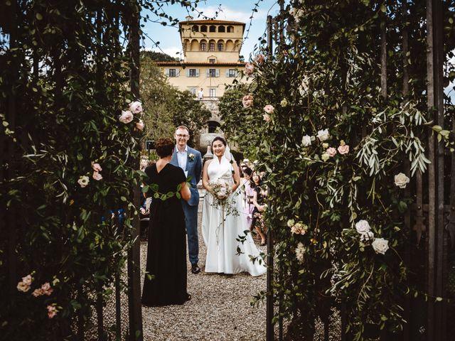 Il matrimonio di Daniel e Siyi a Fiesole, Firenze 2