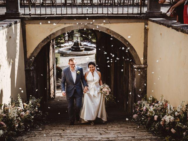 Il matrimonio di Daniel e Siyi a Fiesole, Firenze 20