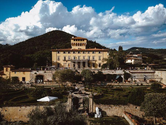 Il matrimonio di Daniel e Siyi a Fiesole, Firenze 24