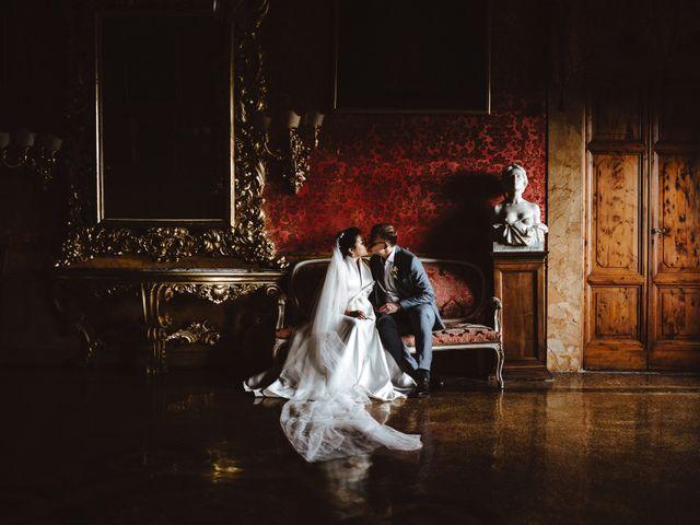 Le nozze di Siyi e Daniel