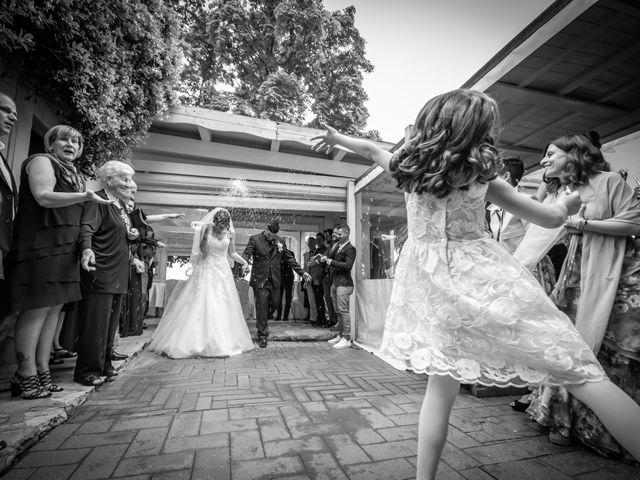 Il matrimonio di Andrea e Simona a San Giuliano Terme, Pisa 36